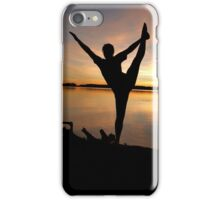 dancer at sunset iPhone Case/Skin