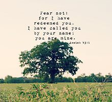 Isaiah Fear Not by Kimberose