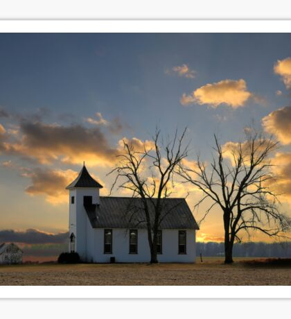 Little Church On The Prairie Sticker