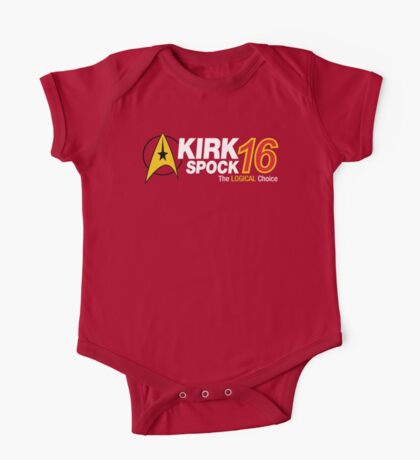 Kirk / Spock 2016 One Piece - Short Sleeve