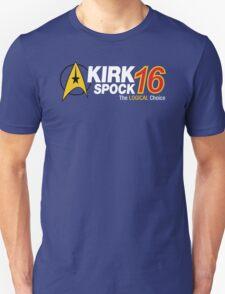 Kirk / Spock 2016 Unisex T-Shirt