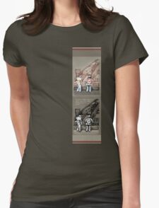 Rush Hour Parking, Also Womens Fitted T-Shirt