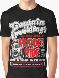 Captain Spaulding Murder Ride Graphic T-Shirt