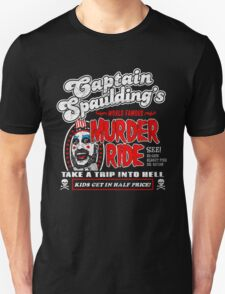 Captain Spaulding Murder Ride Unisex T-Shirt