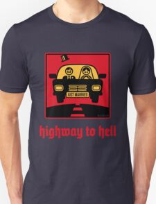 Just Married _ Highway To Hell (3C) T-Shirt