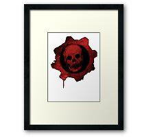 Gears Of War Logo  Framed Print
