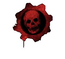 Gears Of War Logo  Photographic Print