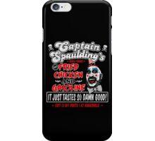 Captain Spaulding Fried Chicken & Gasoline iPhone Case/Skin