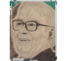 The most successful investor in the world. iPad Case/Skin