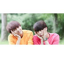Fluffy TaeJin Photographic Print