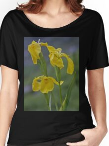 Yellow Flag Iris - Donegal Women's Relaxed Fit T-Shirt
