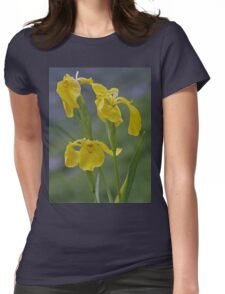 Yellow Flag Iris - Donegal Womens Fitted T-Shirt