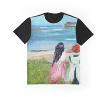 By The Shore By Colleen Ranney Graphic T-Shirt