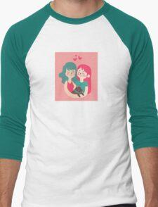 Love Sweet Love  Men's Baseball ¾ T-Shirt
