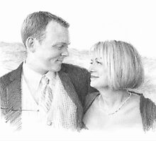 mom and newlywed son by Mike Theuer