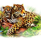 Sumatera Tigers and It's Son by dausadrian