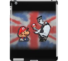 super mario - mushrooms addicted england iPad Case/Skin