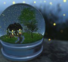 Firefly Globe by Hannah Joy Patterson
