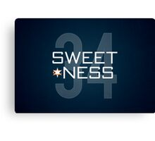 Sweetness Canvas Print