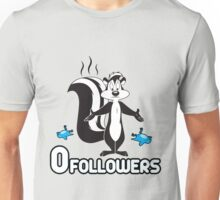 Zero Followers Unisex T-Shirt