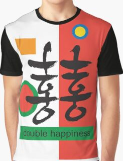 Double happiness Graphic T-Shirt