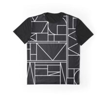 Kaku BW Graphic T-Shirt