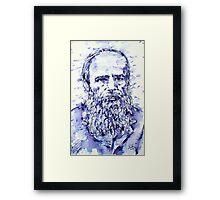 DOSTOYEVSKY portrait Framed Print