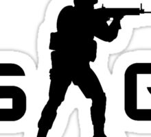 Counter Strike Global Offensive CT Logo Sticker