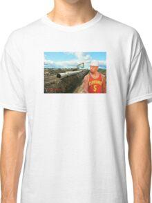 JR Laying Pipe Classic T-Shirt
