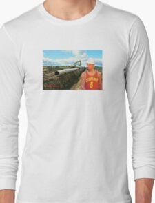 JR Laying Pipe Long Sleeve T-Shirt