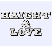 Haight & Love Photographic Print