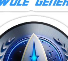 Bar Trek: The Swole Generation  Sticker