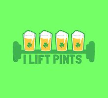 I lift PINTS by jazzydevil