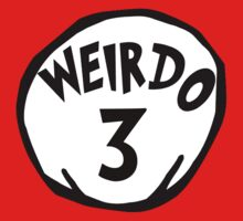 Weirdo 3 Dr Seuss Thing 3 by sweetsisters