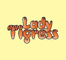 LADY TIGRESS with tiger stripes by jazzydevil