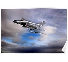 Royal Air Force F4 Phantom Poster