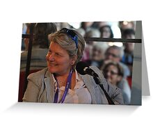 Sandi Toksvig @ Sydney Writers Festival, Australia 2014 Greeting Card