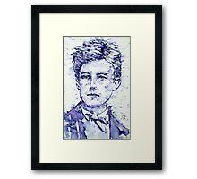 RIMBAUD portrait Framed Print