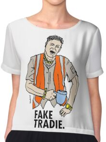 Fake Tradie Liberal Party faketradie Chiffon Top