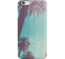 Teal Palm Fade iPhone Case/Skin
