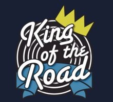 KING of the ROAD with crown Kids Clothes