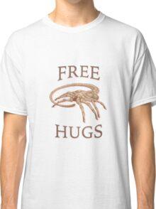 Free Hugs Alien Face Hugger Classic T-Shirt