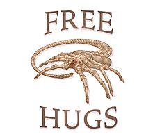 Free Hugs Alien Face Hugger Photographic Print