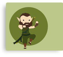 Monk Wood Elf Canvas Print