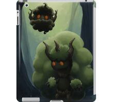 Fluffy Forest Ghosts iPad Case/Skin