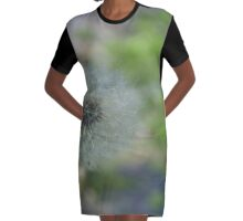 Weed Graphic T-Shirt Dress
