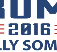 TRUMP 2016 Finally Someone With Balls ! Sticker