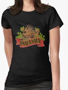 Advanced Nutrient Piranha Powder Womens Fitted T-Shirt