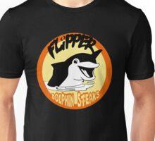 Flipper Dolphin Steaks Unisex T-Shirt