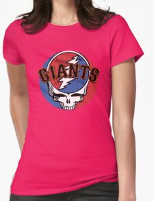 Grateful Dead SF Giants Womens Fitted T-Shirt